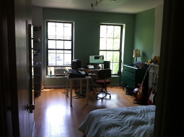spacious, quiet room w/private bath: BK brownstone