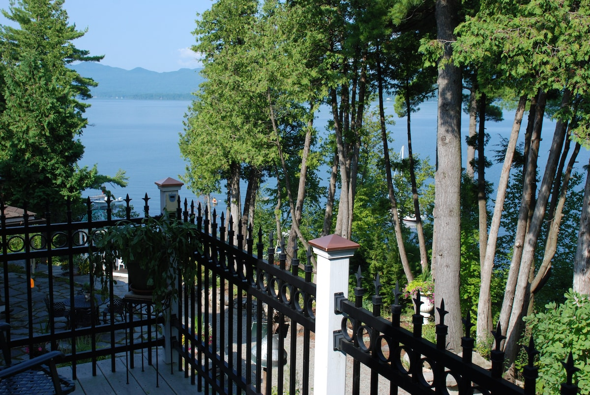 Intero Soggiorno In Francese Lake Champlain Stylish Apartment Amazing Views