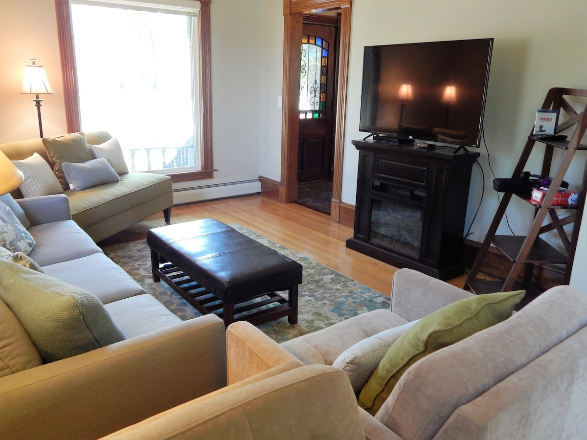 Spacious Historic Downtown Home Houses For Rent In Fargo