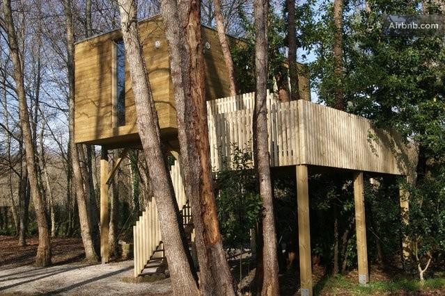 casa sull'albero vicino Santiago de Compostela