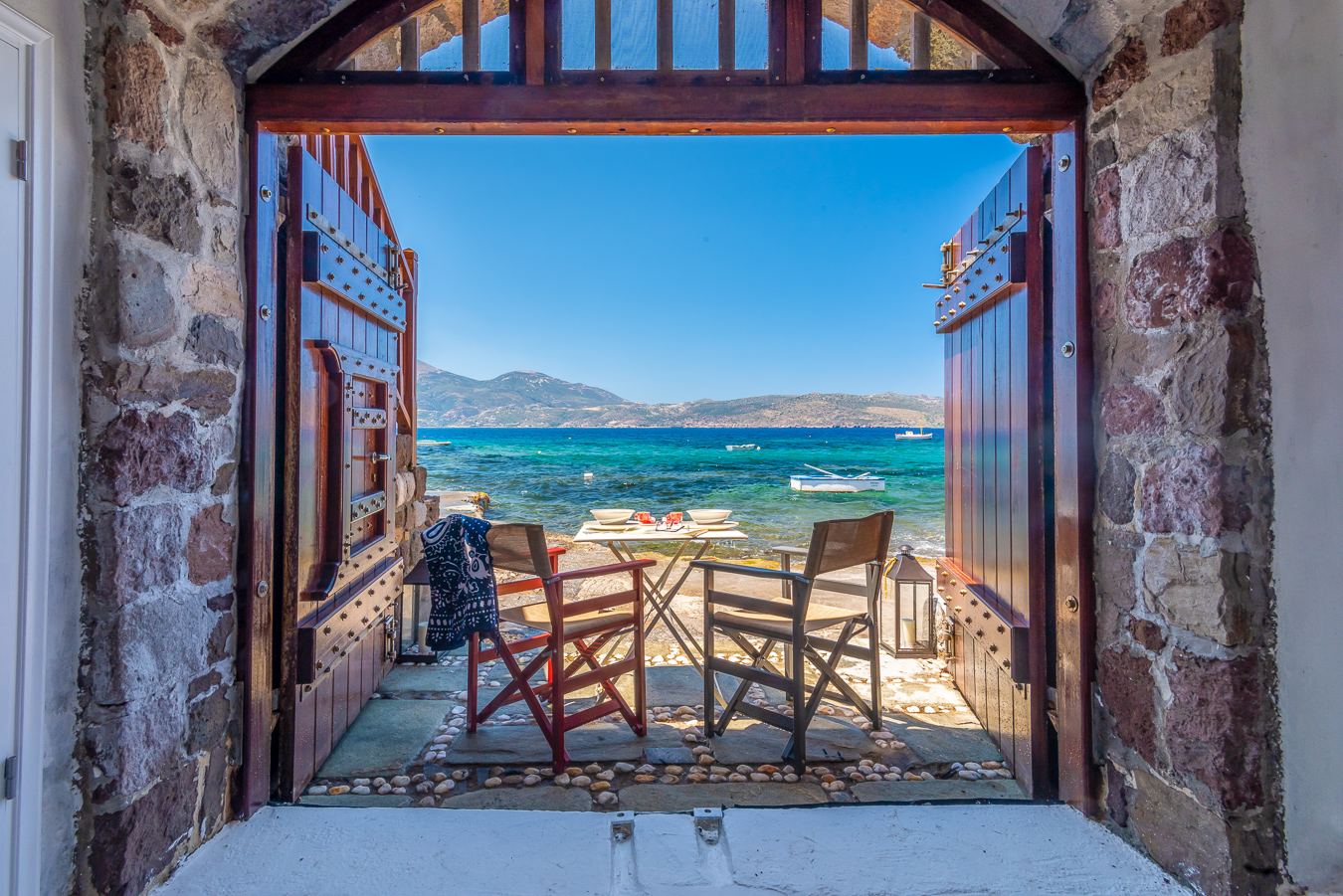 Neosikos Amazing Beach House Traditional Sirma Houses For Rent In Klima Greece
