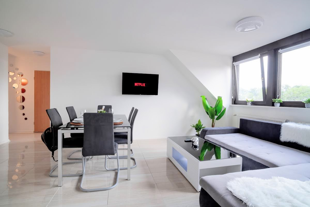Top Equipped Netflix Wifi Centro Olga Park Apartments For Rent In Oberhausen Nordrhein Westfalen Germany