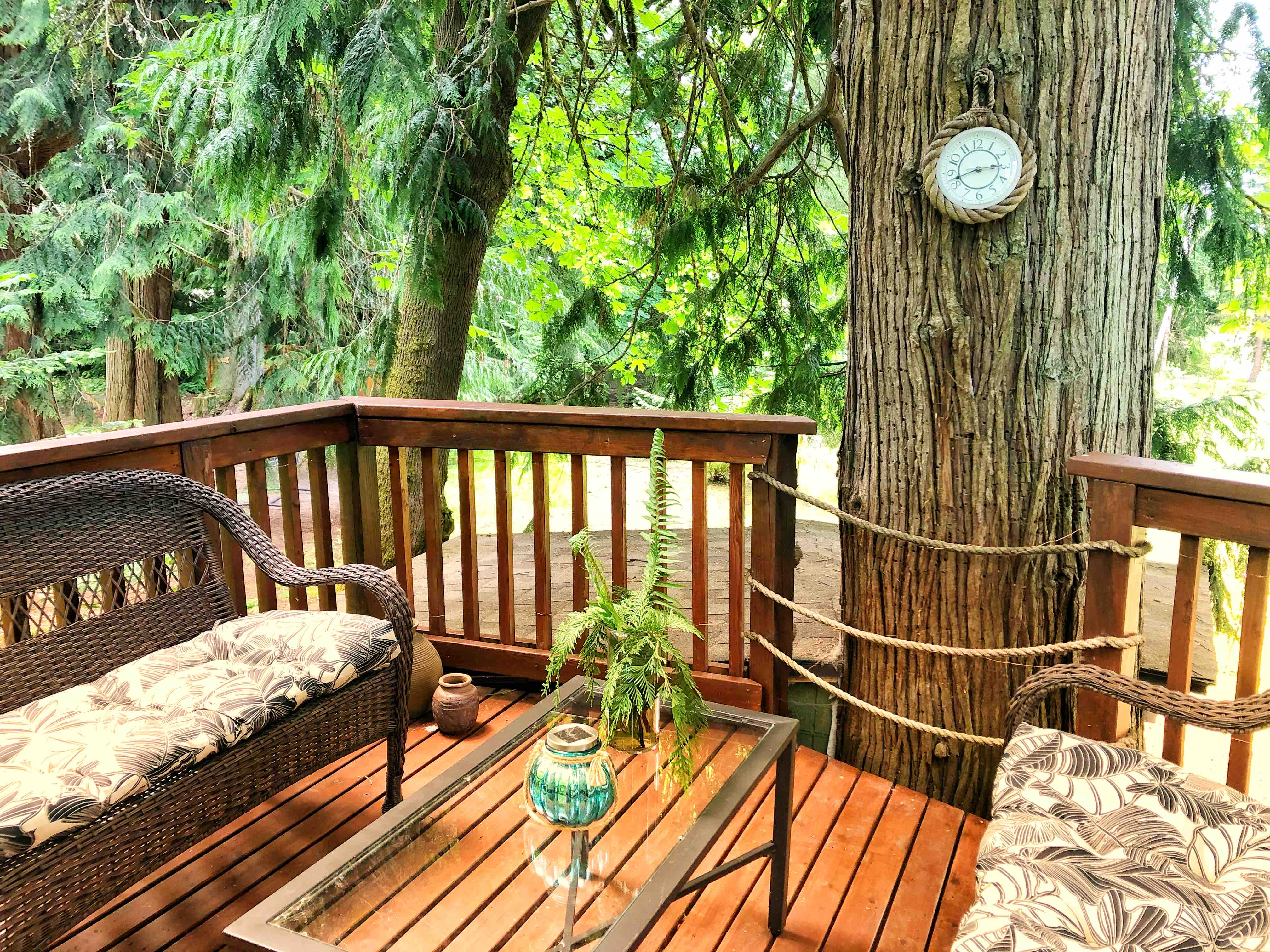 Treehouse With Panoramic Views Treehouses For Rent In Olympia Washington United States