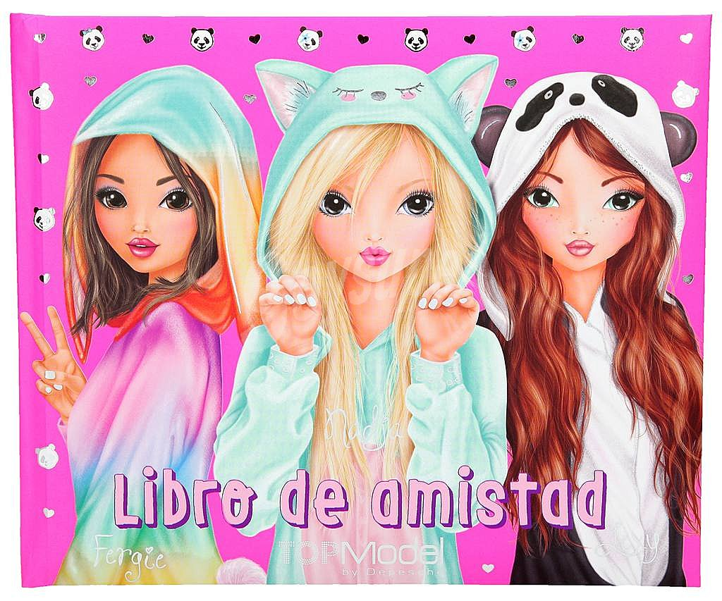 Libro Top Model Depesche Libro De Amistad Top Model Friends Rosa Vv Aa Género Infantil Depesche