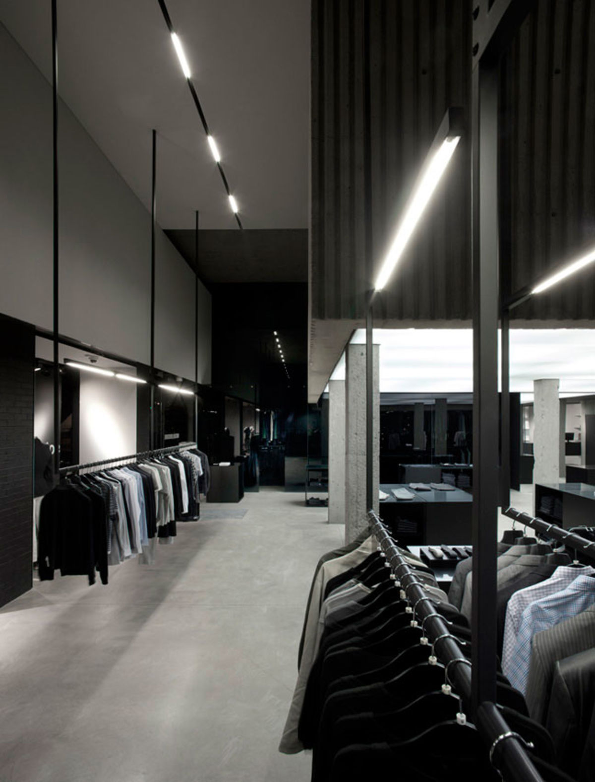 Lighting Stores In Montreal Saucier 43 Perrotte Architectes Marc Cramer Boutique