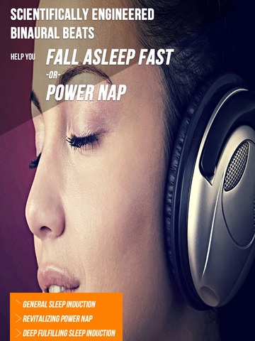 Binaural Sleep Beats - Insomnia Sounds iPad
