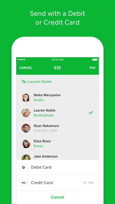 Square Cash - Send Money for Free on the App Store