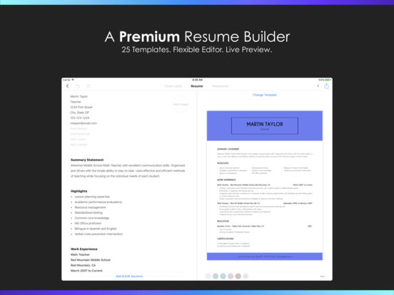 resume builder by nobody review