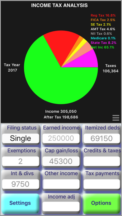 TaxMode - USA Income Tax Calculator - AppRecs - Income Tax Calculator