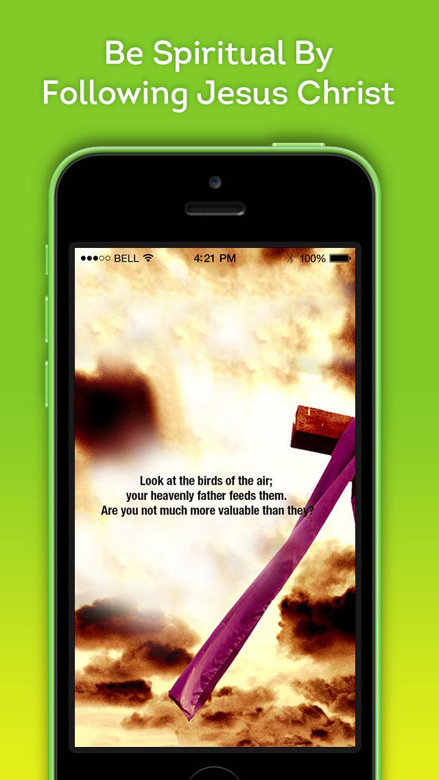 App Shopper Spiritual Bible Inspirational Quotes from Jesus Christ