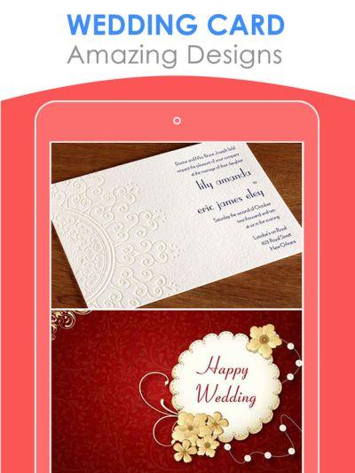 App Shopper: Free Wedding Card Designs | Best Invitation ...