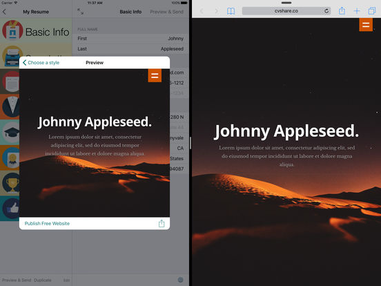 The best iPhone apps for resumes - appPicker