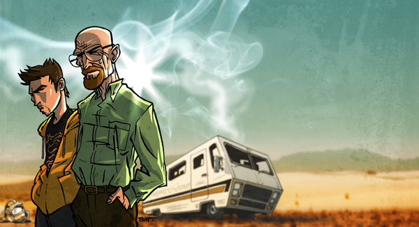 376139 7714779 lz 25 Stunning Breaking Bad Fan Artworks