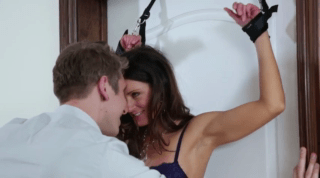 India Summer Experimenting With Bondage