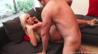 Horny Blonde With Big Natural Tits