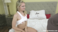 Gorgeous Sister Grips Step-Brothers Cock