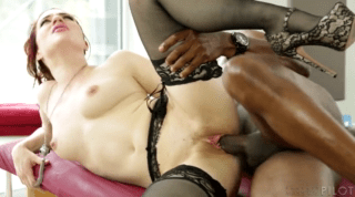 Huge Black Cock In The Hands Of Horny Mistress