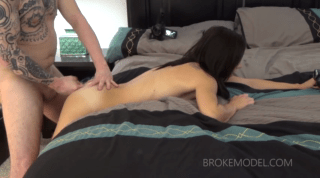 Tight Asshole Destroyed With Fat Cock