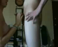 Busty Skinny Teen Blowjob And Titfuck