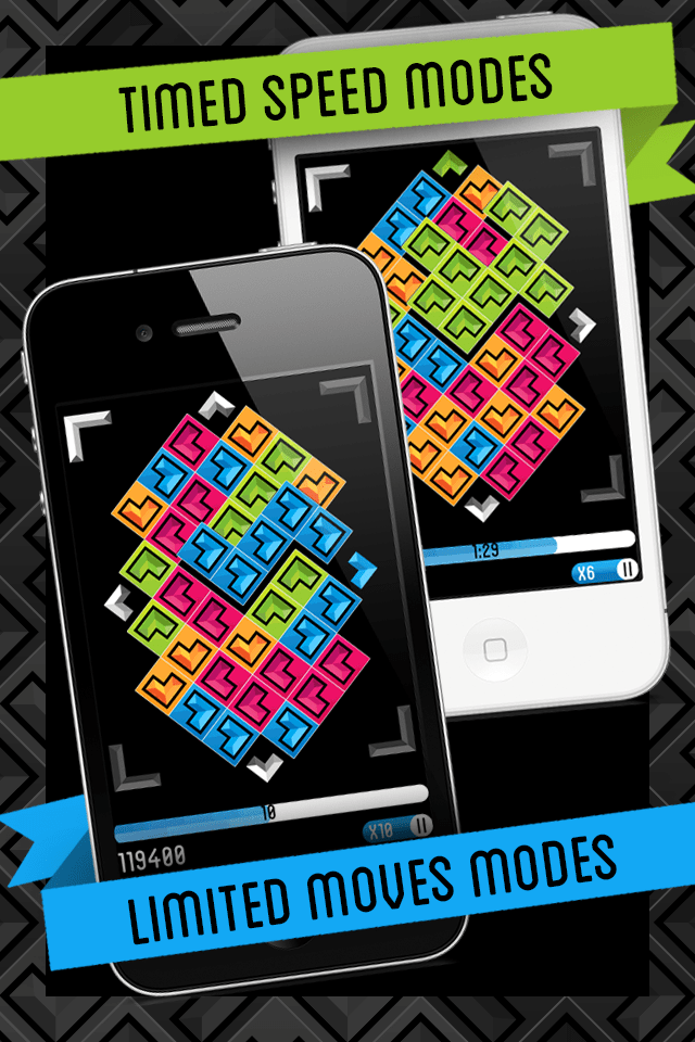Directional - Gem Matching Game iPhone