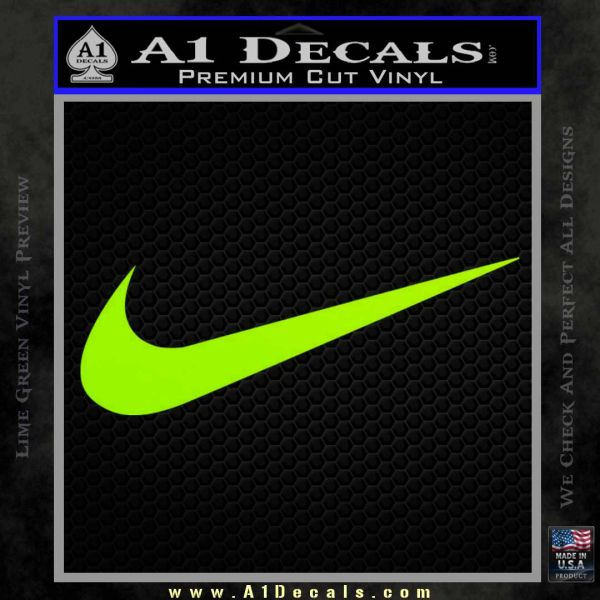 nike sign stickers