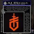 Gerber Knives Decal Sticker New Shield Orange Emblem