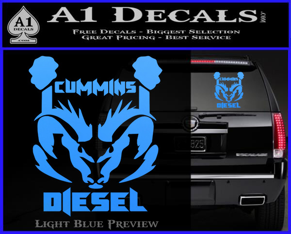 Black Diamond Plate Wallpaper Cummins Diesel Decal Sticker Rt4 187 A1 Decals