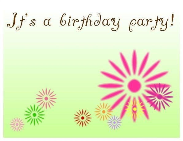 Birthday Invitation Templates Graphics and Templates - free birthday card template word