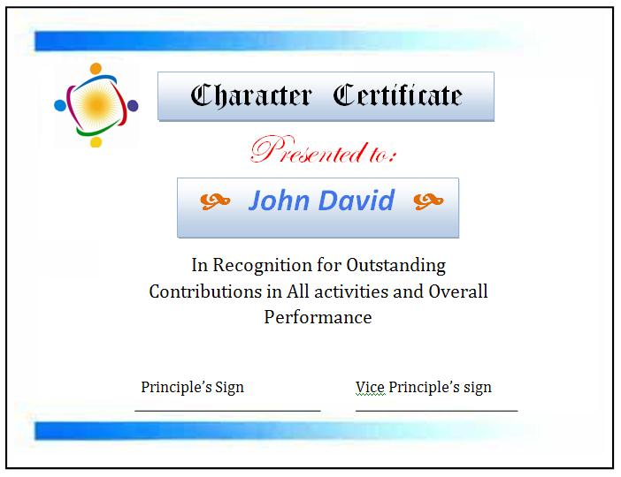 High School Certificate Template Graphics and Templates - sample school certificate