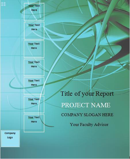 Doc500375 Free Report Cover Templates Doc500375 Free Report – Free Report Cover Page Template