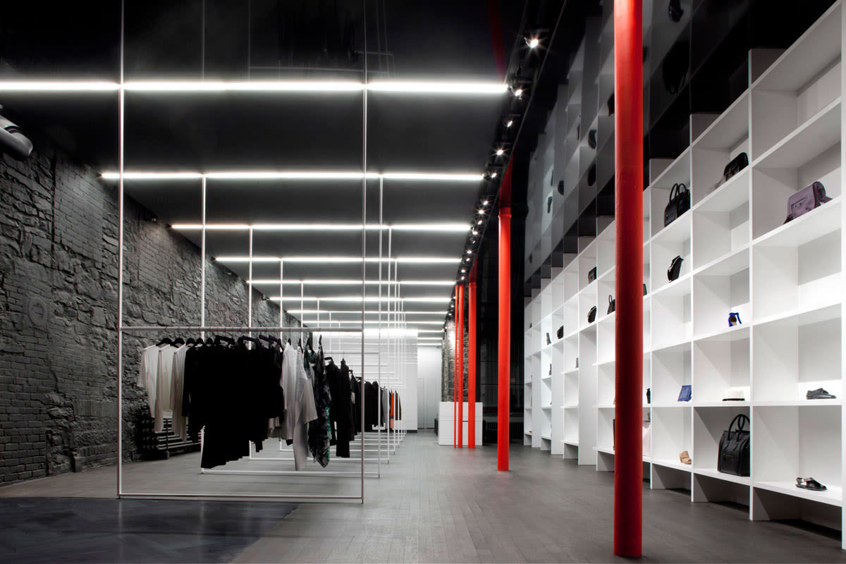 Lighting Stores In Montreal Saucier 43 Perrotte Architectes Marc Cramer Cahier D