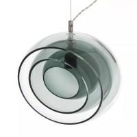 E27 Modern Simple Transparent Glass Pendant Lamp for Home ...