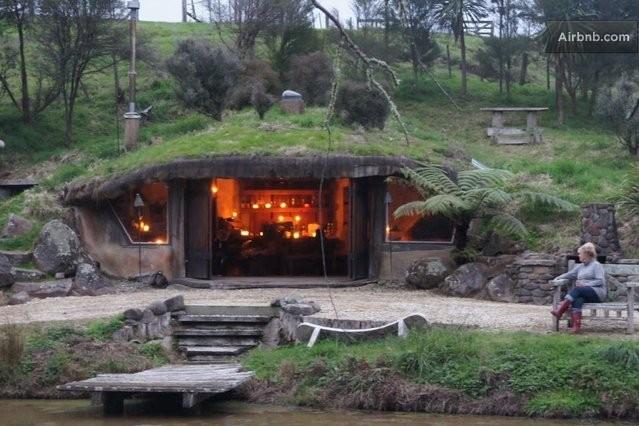 hobbit house Living in a Storybook Pinterest Hidden house
