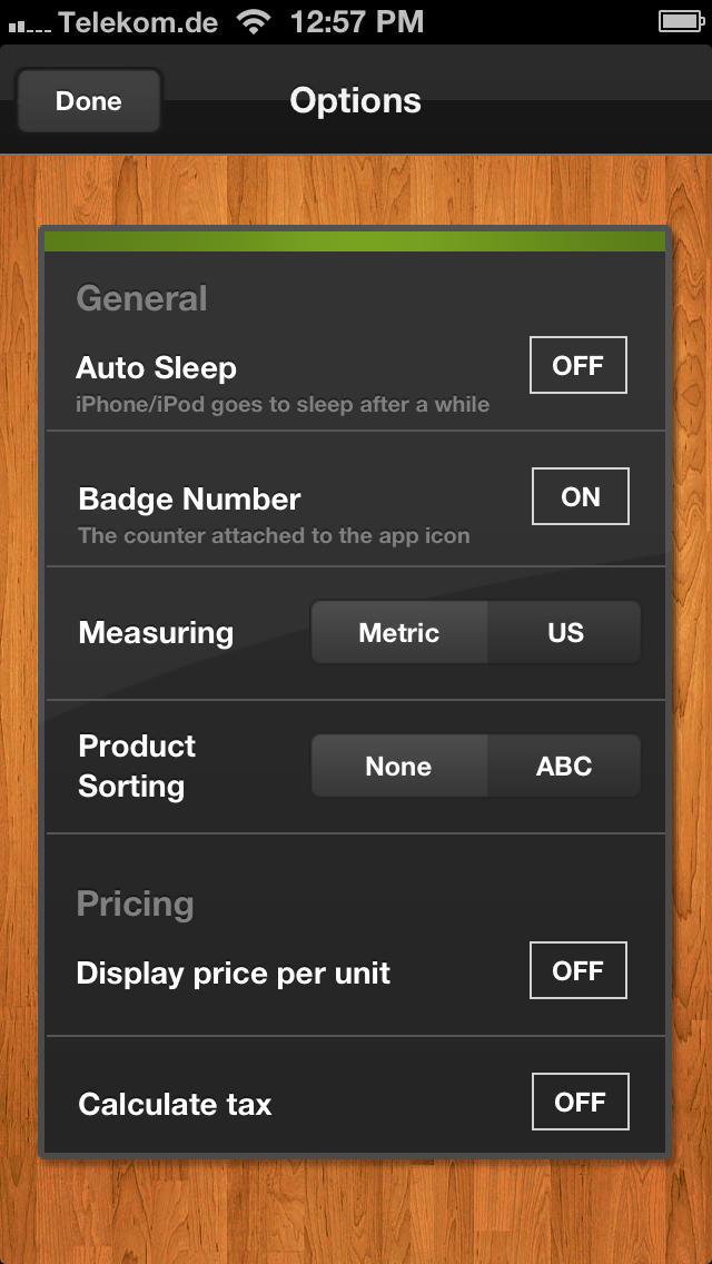 Shopping List (Grocery List) - GetApplr