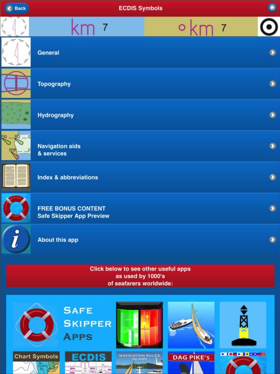 App Shopper ELECTRONIC NAUTICAL CHART SYMBOLS  ABBREVIATIONS