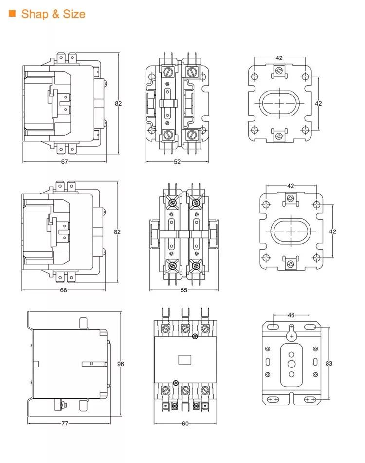 electrical combiner box auto electrical wiring diagram50 60hz 24v 120v 240v 4 pole contactor