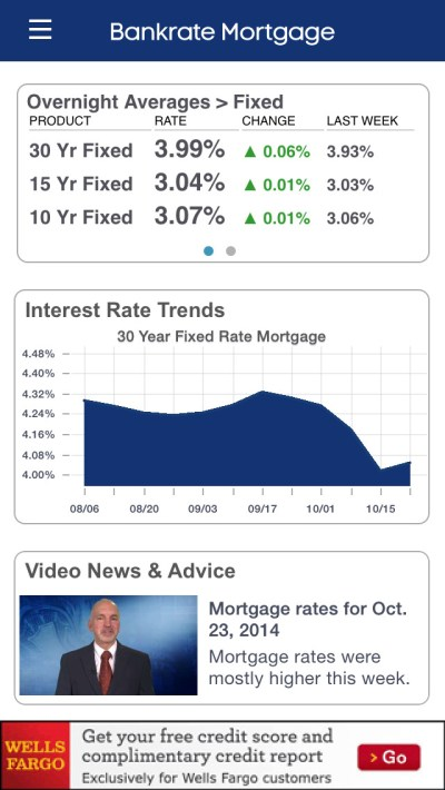 Mortgage Calculator & Mortgage Rates by Bankrate - appPicker