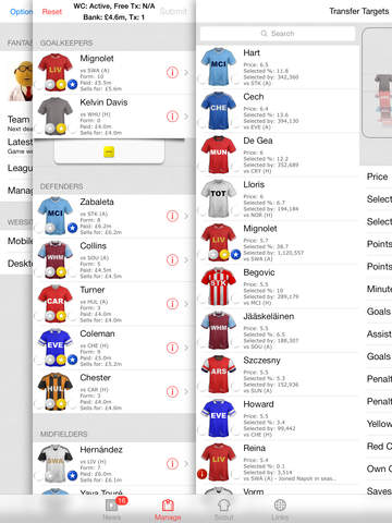 Fantasy Football Manager - FFM for FPL iPad