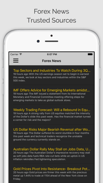 Forex economic calendar app iphone - the importance of an economic calendar for day trading