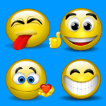 Moving Animated Emoji Faces