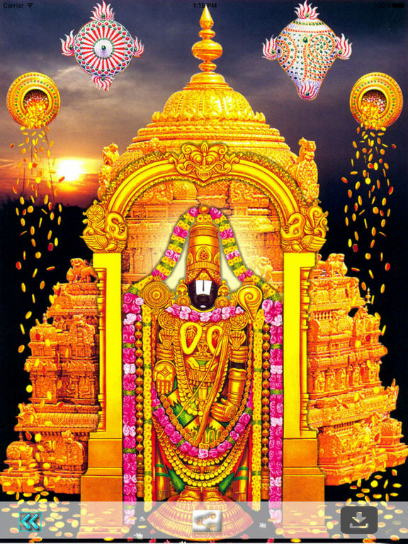 Lord Vishnu 3d Live Wallpaper App Shopper Lord Venkateswara Wallpapers Lord Balaji