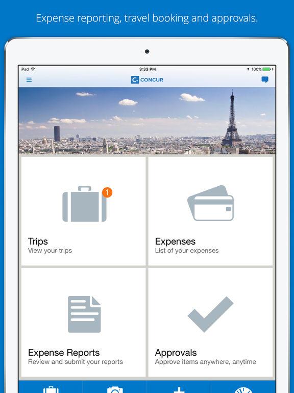 Concur - Travel, Receipts, Expense Reports - AppRecs - expense reports