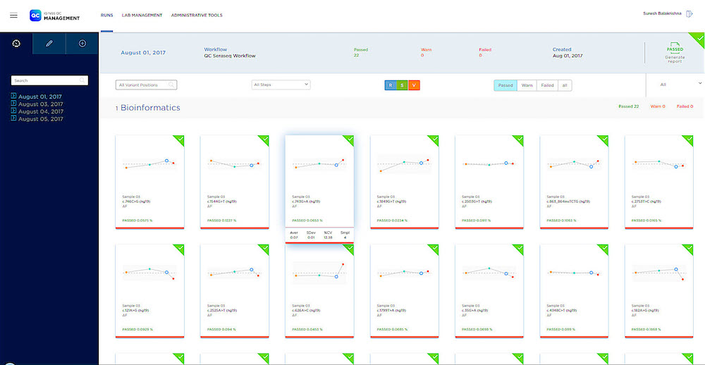 SeraCare Enhances Quality Control Software - Clinical Lab Products