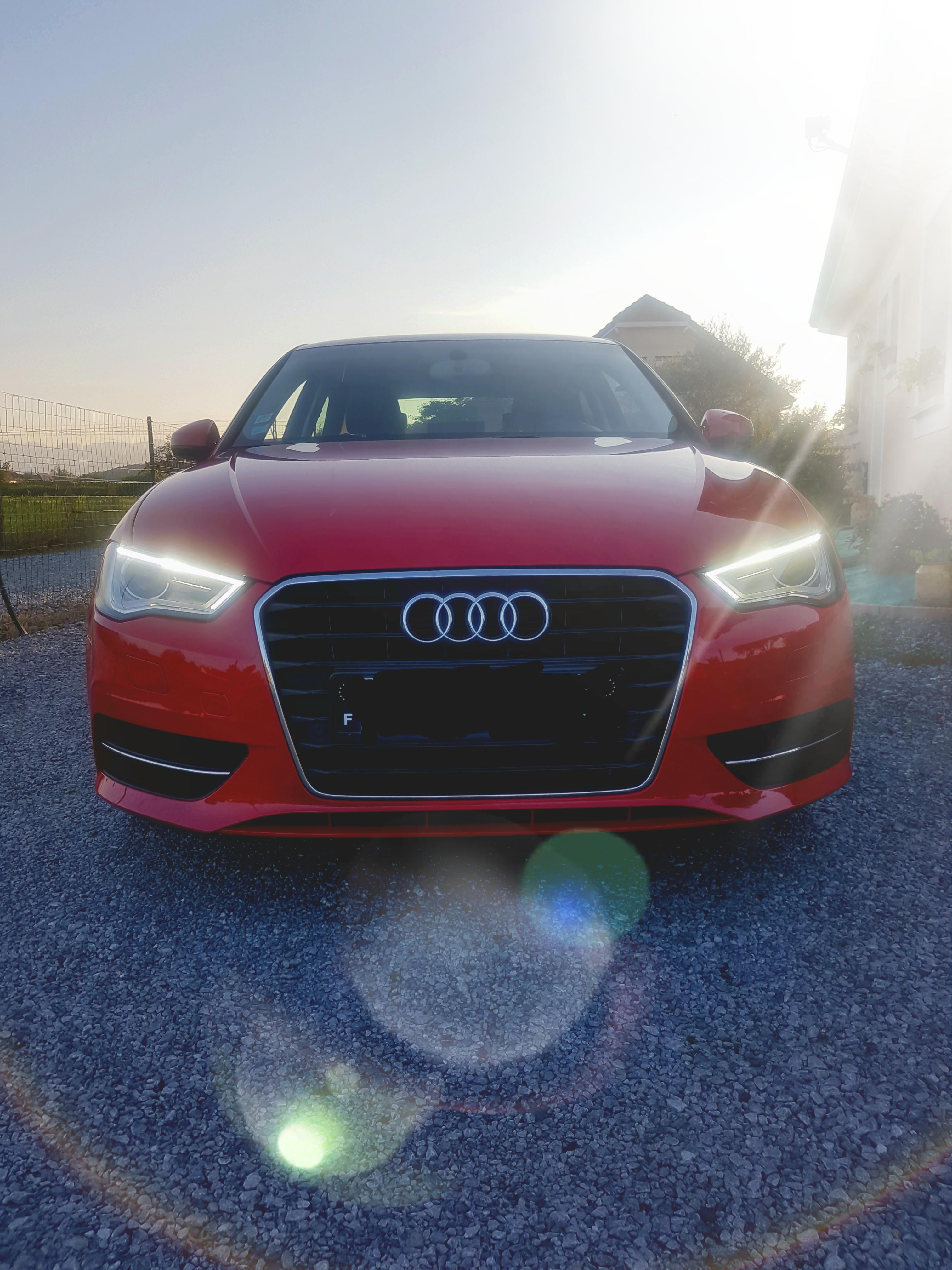 Audi A3 Rouge Mika6401 2 Tdi 150 Stronic Rouge New Garages