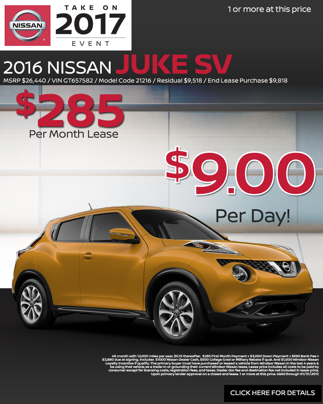 Best Nissan Juke Lease Deals Nissan Monthly Lease Deals