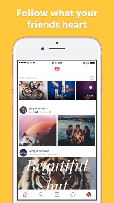 We Heart It Screenshot