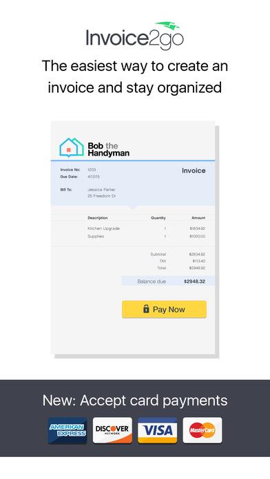 Invoice 2go \u2014 Professional Invoices and Estimates - Free Download