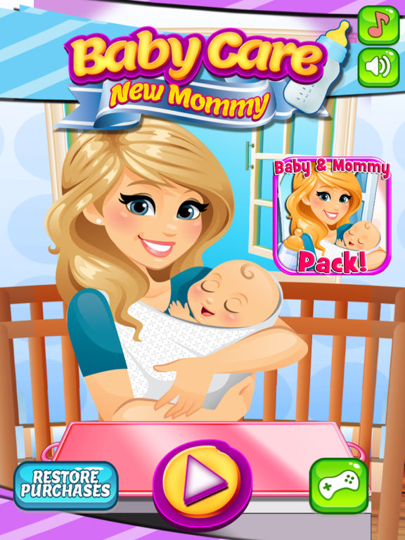 Newborn Baby Activity Toys App Shopper My Newborn Baby Mommy Care Pregnancy Games