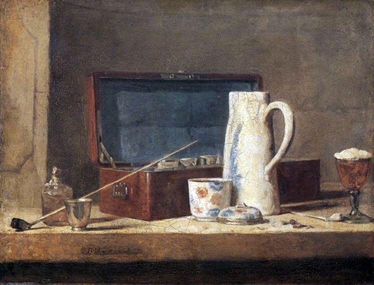 Jean-Baptiste-Simeon Chardin (Jean Baptiste Simeon Chardin) 1763