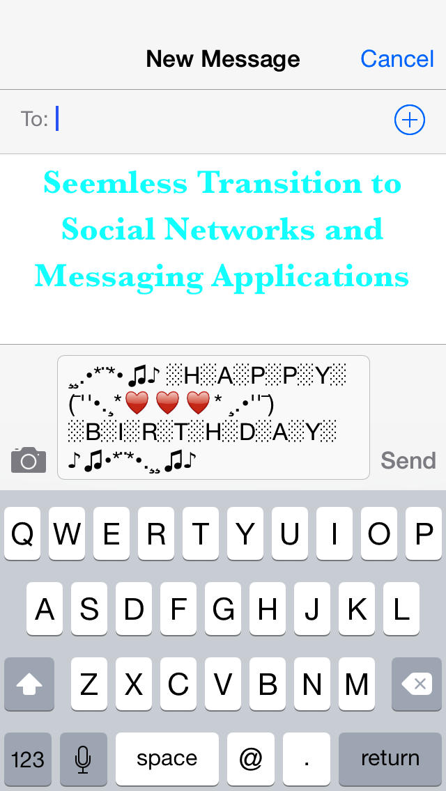 App Shopper Cool Text Art - Add new style to your messages and - cool text message art